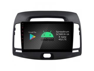 Штатная магнитола Roximo RI-2018 для Hyundai Elantra 4 2006-2011 c DSP процессором и 4G Sim на Android 9