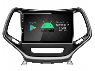 Штатная магнитола Roximo RI-2202 для Jeep Cherokee c DSP процессором и 4G Sim на Android 10