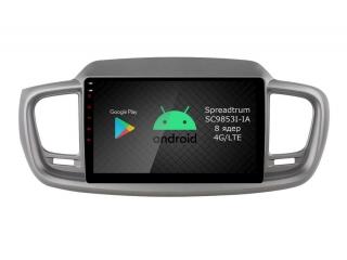 Штатная магнитола Roximo RI-2317 для Kia Sorento Prime на Android 9