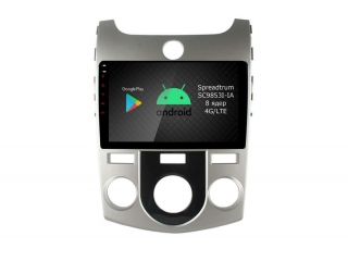 Штатная магнитола Roximo RI-2321M для Kia Cerato 2006-2011 на Android 9