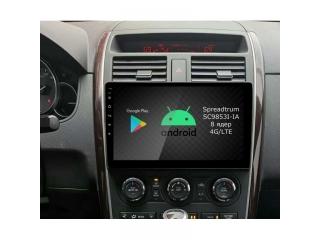 Штатная магнитола Roximo RI-2406 для Mazda CX-9 c DSP процессором и 4G Sim на Android 10