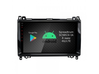 Штатная магнитола Roximo RI-2503 для Mercedes Benz A-Class, B-Class, Sprinter, Viano, Vito c DSP процессором и 4G Sim на Android 10