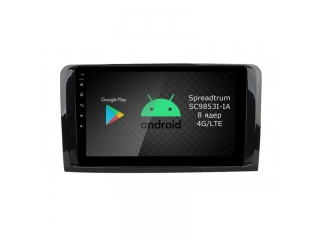 Штатная магнитола Roximo RI-2504 для Mercedes Benz GL w164, ML w164 c DSP процессором и 4G Sim на Android 10