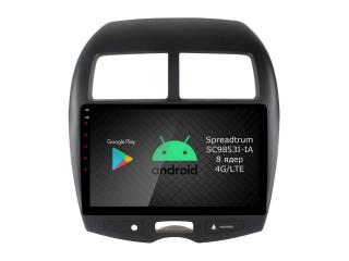 Штатная магнитола Roximo RI-2614 для Mitsubishi ASX c DSP процессором и 4G Sim на Android 10