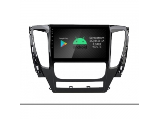 Штатная магнитола Roximo RI-2615 для Mitsubishi Pajero Sport 2016+ (АКПП) c DSP процессором и 4G Sim на Android 9