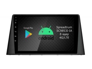 Штатная магнитола Roximo RI-2903 для Peugeot 3008 2016+ c DSP процессором и 4G Sim на Android 9