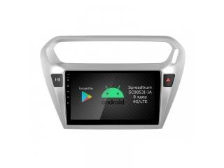 Штатная магнитола Roximo RI-2904 для Citroen C-Elysee, Peugeot 301 c DSP процессором и 4G Sim на Android 9