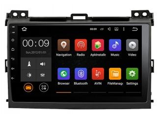 Штатная магнитола Roximo RX-1105 для Toyota Land Cruiser Prado 120 c DSP процессором и 4G Sim на Android 10