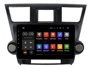 Штатная магнитола Roximo RX-1122 для Toyota Highlander 2007-2014 c DSP процессором и 4G Sim на Android 10