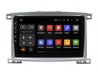 Штатная магнитола Roximo RX-1123 для Toyota Land Cruiser 100 2002-2007 c DSP процессором и 4G Sim на Android 10