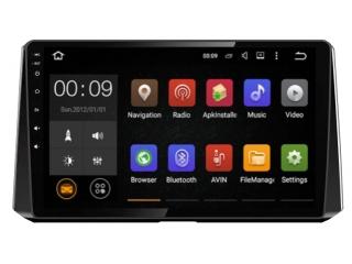 Штатная магнитола Roximo RX-1127 для Toyota Corolla E210 c DSP процессором и 4G Sim на Android 10