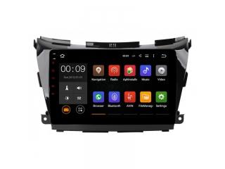 Штатная магнитола Roximo RX-1206 для Nissan Murano 3, Z52 c DSP процессором на Android 10