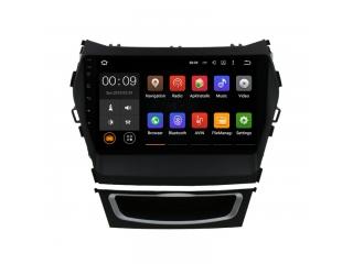 Штатная магнитола Roximo 4G RX-2019 для Hyundai SantaFe 3 c DSP процессором на Android 10