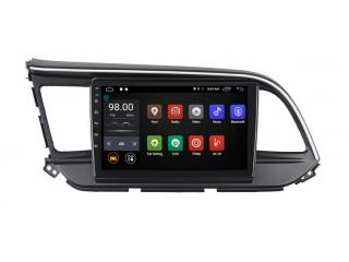 Штатная магнитола Roximo RX-2026 для Hyundai Elantra 2019+ c DSP процессором и 4G Sim на Android 10