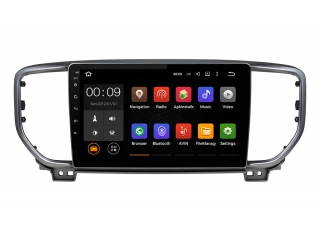 Штатная магнитола Roximo RX-2329 для Kia Sportage 2018+ c DSP процессором и 4G Sim на Android 10