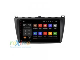 Штатная магнитола Roximo RX-2415 для Mazda 6 2009+ c DSP процессором на Android 10