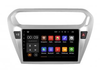 Штатная магнитола Roximo RX-2904 для Peugeot 301, Citroen C-Elysee 2012+ c DSP процессором и 4G Sim на Android 10
