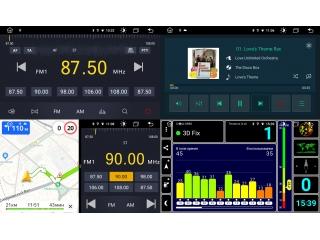 Штатная магнитола Roximo RX-3701 для Volkswagen, Skoda, Seat Универсальная 10 дюймов c DSP процессором и 4G Sim на Android 10