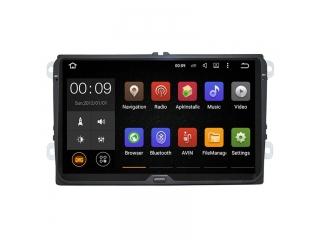 Штатная магнитола Roximo RX-3711 для Volkswagen, Skoda, Seat Универсальная c DSP процессором на Android 10